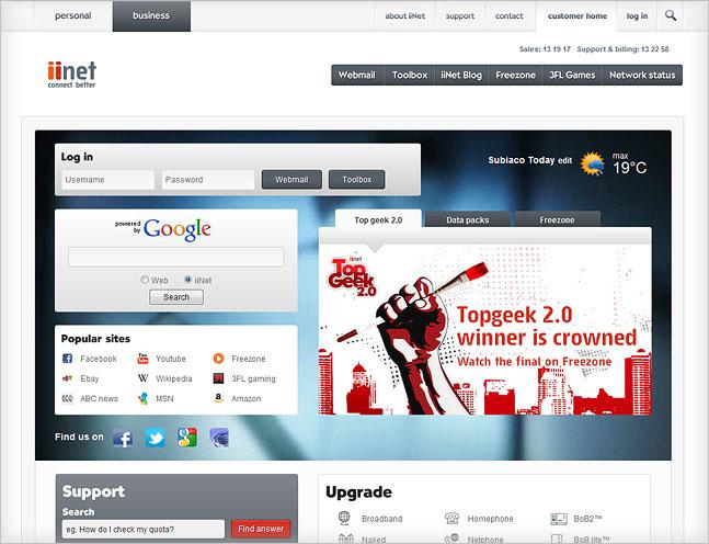 Unveiling the new iiNet website