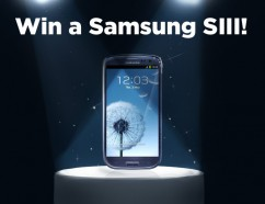 Win a Samsung SIII!
