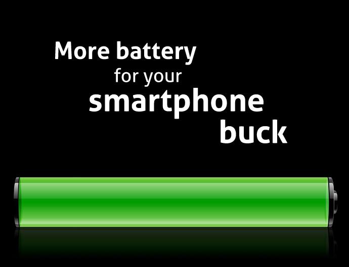 Extra long battery