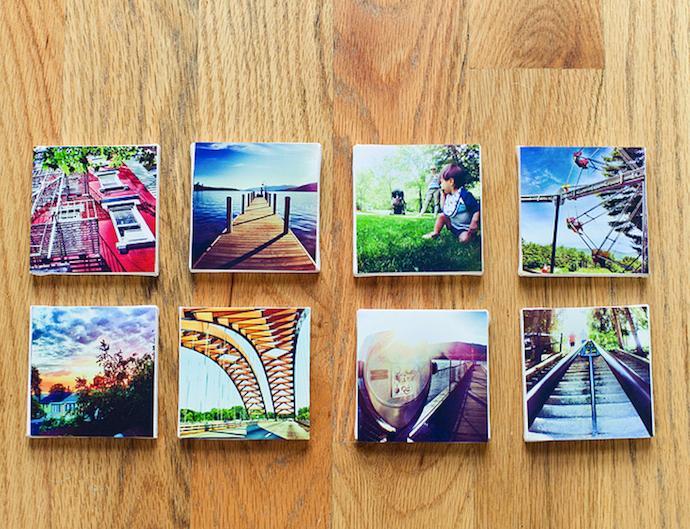 DIY Instagram Photos on Canvas