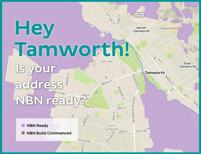 NBN rollout progress in Tamworth the iiNet Blog