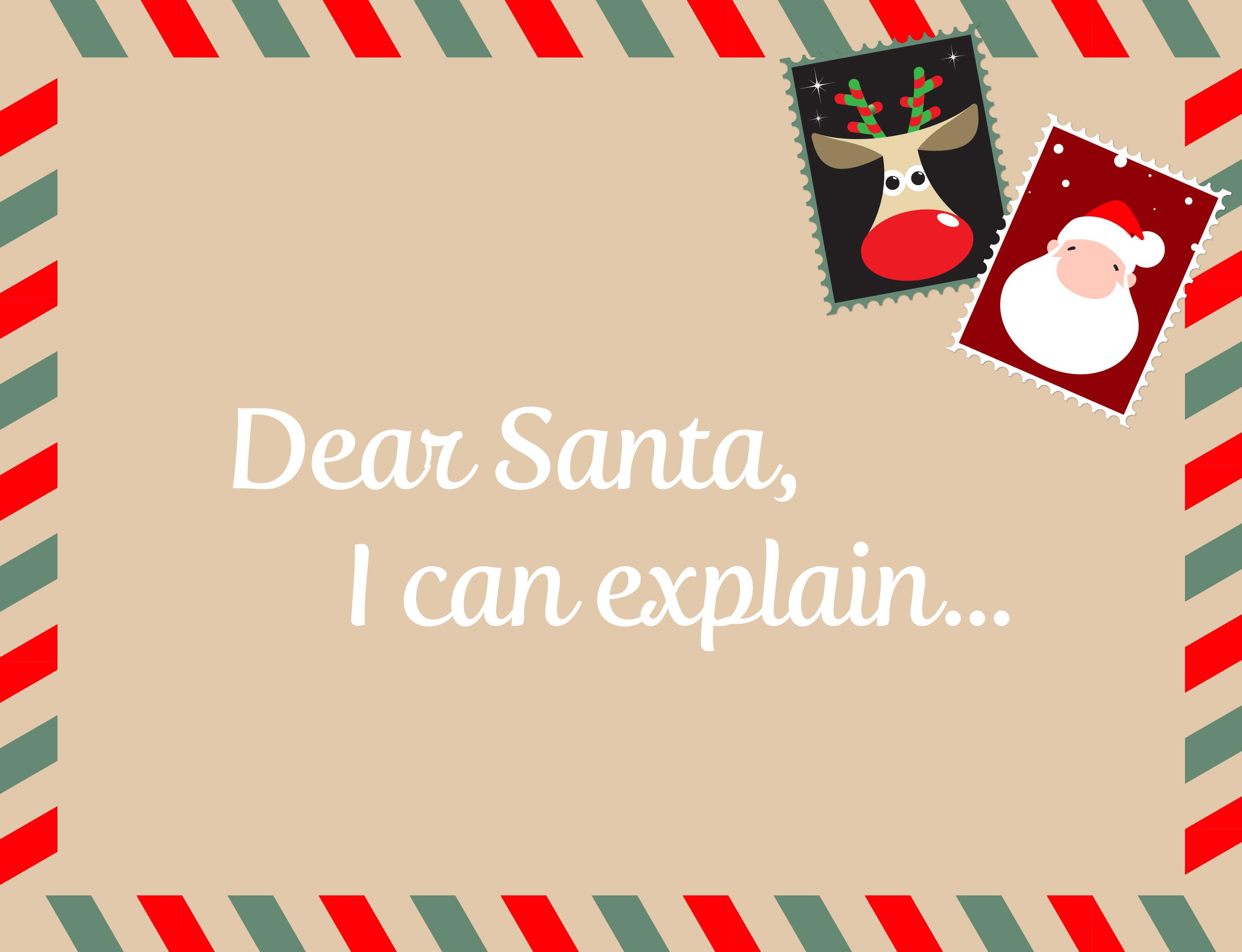 Dear Santa Blog Image