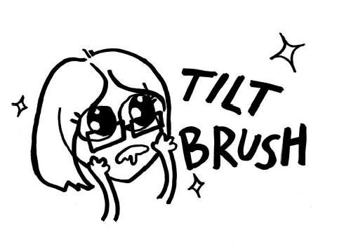 tilt brush drool