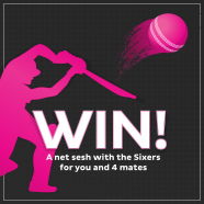 WIN a net session with the Sixers