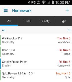 homeworkplanner
